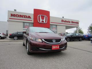 Used 2014 Honda Civic LX for sale in Woodstock, ON