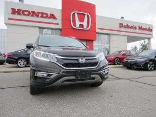 Used 2016 Honda CR-V Touring for sale in Woodstock, ON