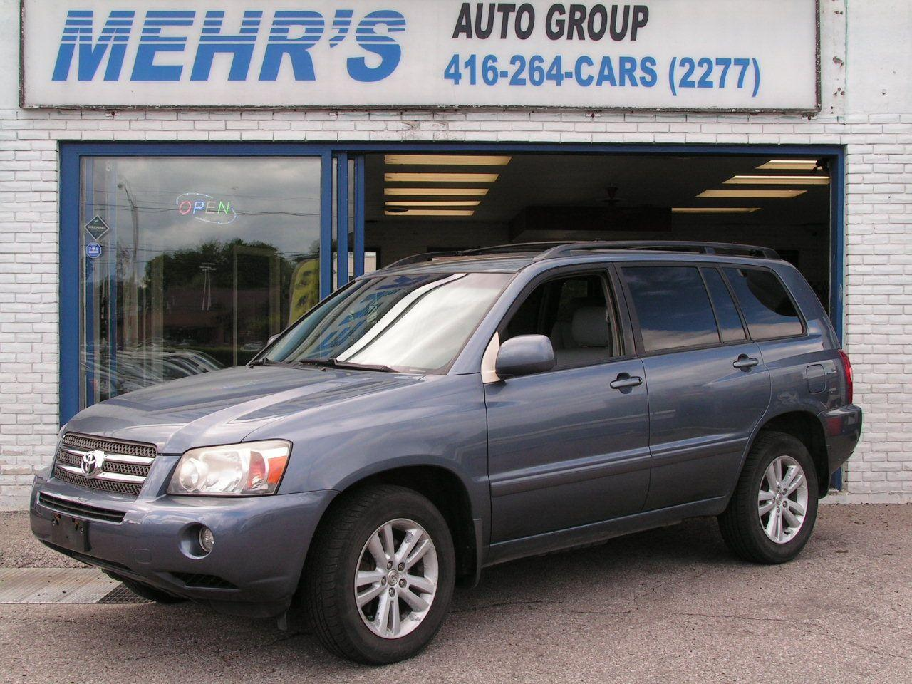 Photo of Blue 2006 Toyota Highlander