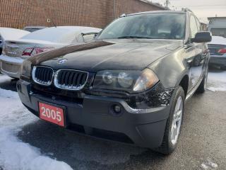 Used 2005 BMW X3 2.5i/AWD/Leather Seats/Roof/Alloys for sale in Scarborough, ON