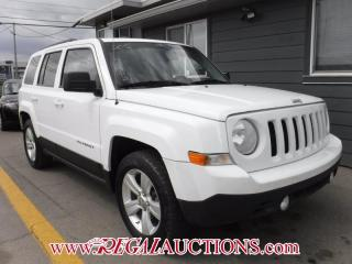 Used 2012 Jeep PATRIOT SPORT 4D UTILITY 2WD for sale in Calgary, AB