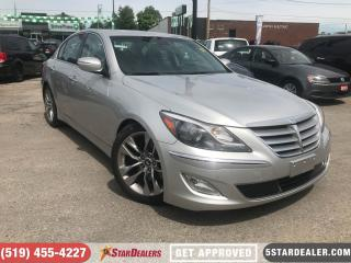 Used 2013 Hyundai Genesis 5.0 R-Spec | NAV | LEATHER | ROOF | CAM for sale in London, ON