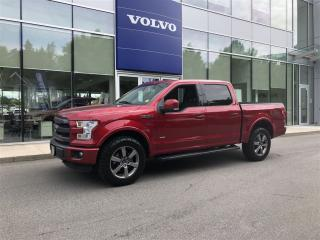 Used 2015 Ford F-150 Lariat SuperCrew 4x4 for sale in Surrey, BC