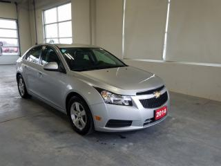 Used 2014 Chevrolet Cruze 2LT Leather | Rearview camera for sale in Stratford, ON