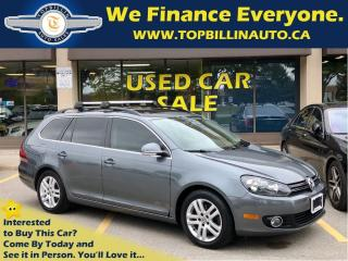 Used 2011 Volkswagen Golf TDI Highline, Navi, Pano Roof, 6 Speed Manual for sale in Concord, ON