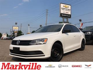 Used 2015 Volkswagen Jetta MANUAL-2 SETS OF TIRES-CERTIFIED PRE-OWNED-1 OWNER for sale in Markham, ON