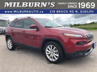Used 2017 Jeep Cherokee Limited for sale in Guelph, ON