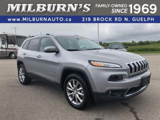 Used 2017 Jeep Cherokee Limited 4X4 for sale in Guelph, ON