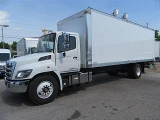 Used 2017 Hino 338 26 FT MULTIVAN ALUMINUM BOX DIESEL for sale in Richmond Hill, ON