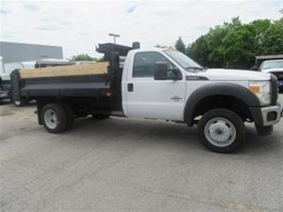 Used 2014 Ford F-550 4X4 DIESEL 12 FT DUMP TRUCK for sale in Richmond Hill, ON