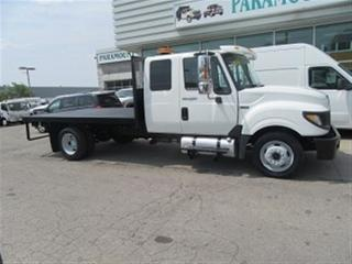 Used 2012 International TerraStar EXT CAB 12 FT FLAT DECK for sale in Richmond Hill, ON