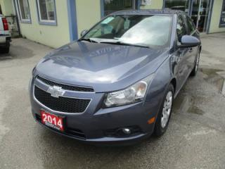 Used 2014 Chevrolet Cruze 'GREAT VALUE' FUEL EFFICIENT 1-LT EDITION 5 PASSENGER 1.4L - TURBO.. CD/AUX/USB INPUT.. KEYLESS ENTRY.. for sale in Bradford, ON