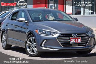 Used 2018 Hyundai Elantra GLS Leather Upholstery|Apple CarPlay/Android Auto|Bluetooth for sale in Whitby, ON