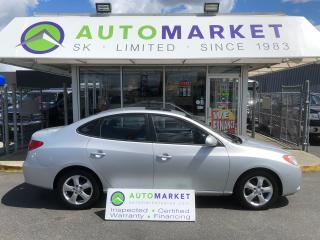 Used 2007 Hyundai Elantra LIMITED HTD. LEATHER! WE FINANCE EVERYONE! for sale in Langley, BC