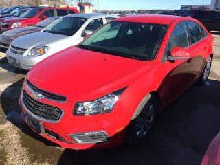 Used 2016 Chevrolet Cruze LT for sale in Alliston, ON