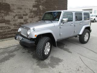 Used 2016 Jeep Wrangler Modèle Sahara 4 portes traction intégral for sale in Gatineau, QC