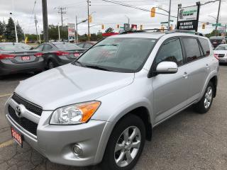 Used 2009 Toyota RAV4 Limited l Sunroof l Allows l No Accidents for sale in Waterloo, ON