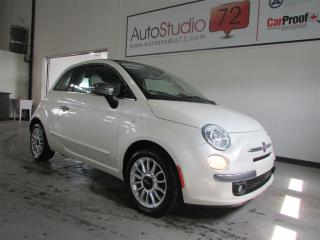 Used 2012 Fiat 500 C Lounge CUIR for sale in Mirabel, QC