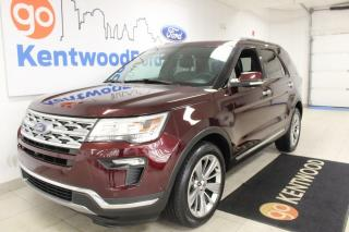 Used 2018 Ford Explorer Limited | AWD | Tghird Row | Seating for 7 | heated/Cooled Leather | Moonroof for sale in Edmonton, AB