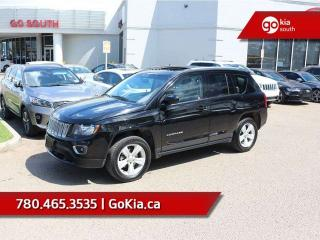Used 2016 Jeep Compass HIGH ALTITUDE; SUNROOF, 4X4, LEATHER, CAR STARTER, BACKUP CAMERA for sale in Edmonton, AB