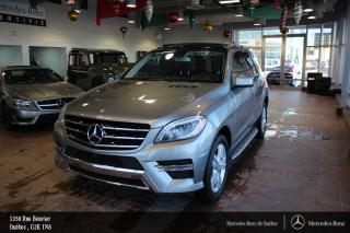 Used 2014 Mercedes-Benz ML-Class Ml350 Bt Awd, Gar for sale in Québec, QC
