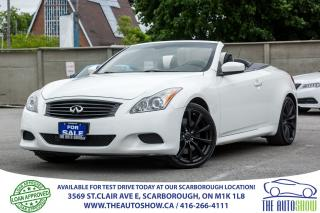Used 2009 Infiniti G37 G37S Sport Bluetooth RearCamera Dealer-Serviced for sale in Caledon, ON
