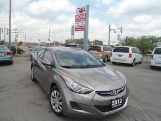 Used 2012 Hyundai Elantra AUTO NO ACCIDENT B-TOOTH SAFETY PW PL PM for sale in Oakville, ON
