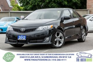 Used 2012 Toyota Camry SE NAVI Sunroof Bluetooth SPORT 2.5L for sale in Caledon, ON