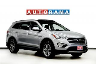 Used 2016 Hyundai Santa Fe XL XL LEATHER SUNROOF 7 PASS 4WD BACKUP CAMERA for sale in North York, ON
