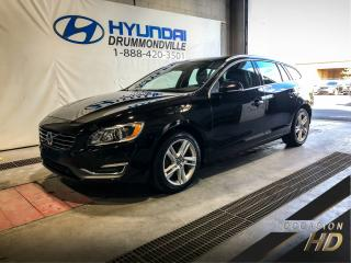 Used 2015 Volvo V60 PREMIER PLUS T5 AWD + GARANTIE + MAGS + for sale in Drummondville, QC