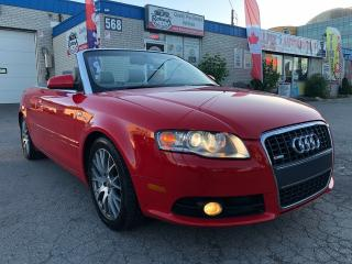 Used 2009 Audi A4 2.0T  S-Line w/ Navigation_Leather_low KMs for sale in Oakville, ON