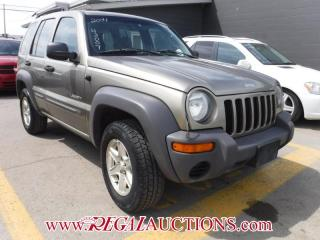 Used 2004 Jeep Liberty Sport 4D Utility 4WD for sale in Calgary, AB