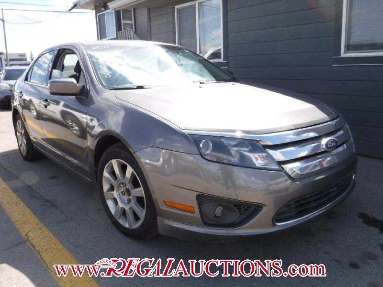 Photo of Grey 2011 Ford FUSION SE 4D SEDAN