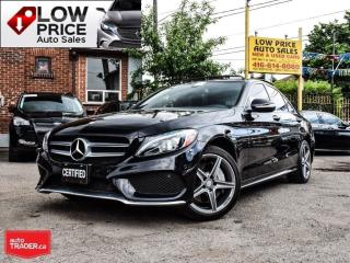 Used 2015 Mercedes-Benz C-Class 4Matic*AMG*Navi*BlindSpot*Cam*FullOpti* for sale in York, ON