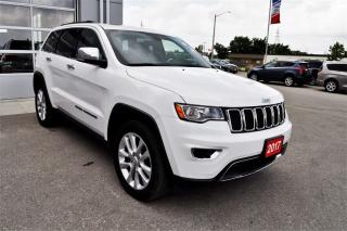 Used 2017 Jeep Grand Cherokee Limited | Navigation | 20 Alloy wheels for sale in Stratford, ON