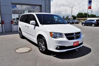 Used 2017 Dodge Grand Caravan CVP/SXT  Leather seats | DVD | Navigation for sale in Stratford, ON
