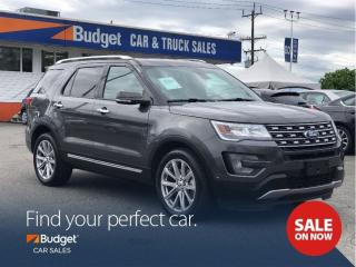 Used 2017 Ford Explorer Limited, Super Clean, Perfect Family SUV for sale in Vancouver, BC