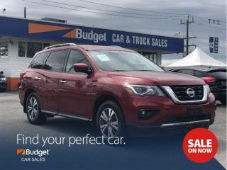 Used 2017 Nissan Pathfinder Premium Leather Seating, Blind Spot Detection for sale in Vancouver, BC