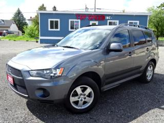 Used 2011 Mitsubishi Outlander ES/LOW KM/BLUE TOOTH/SAFETY INCLUDED for sale in Guelph, ON