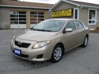 Used 2009 Toyota Corolla CE for sale in Smiths Falls, ON
