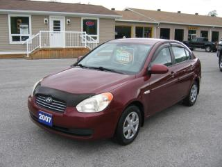 Used 2007 Hyundai Accent for sale in Smiths Falls, ON