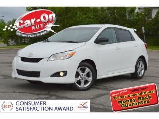 Used 2012 Toyota Matrix Convenience Pkg AUTO SUNROOF ALLOYS CRUISE for sale in Ottawa, ON