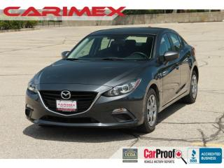 Used 2015 Mazda MAZDA3 GX ONLY 57K | Bluetooth | CERTIFIED for sale in Waterloo, ON