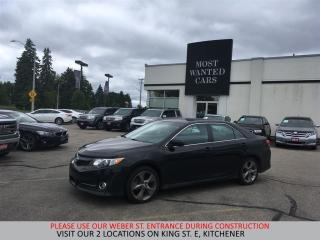 Used 2014 Toyota Camry SE | NAVIGATION | CAMERA | PUSH BUTTON START for sale in Kitchener, ON