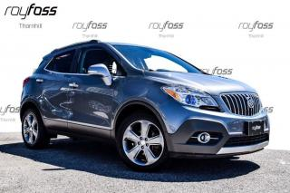 Used 2014 Buick Encore CX Fwd Rear Camera Bluetooth 18 Whls for sale in Thornhill, ON