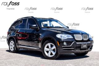 Used 2009 BMW X5 35Diesel Sunroof Leather Alloys for sale in Thornhill, ON
