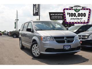 Used 2014 Dodge Grand Caravan CVP - Roof Rack, Dark Tin, Cruise, Rear Air for sale in London, ON