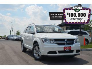 Used 2011 Dodge Journey Canada Value Package - Roof Rack, Keyless, Cruise for sale in London, ON