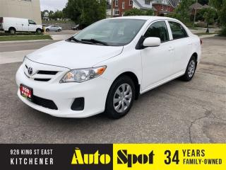 Used 2013 Toyota Corolla CE/LOW, LOW KMS!/PRICED - QUICK SALE for sale in Kitchener, ON