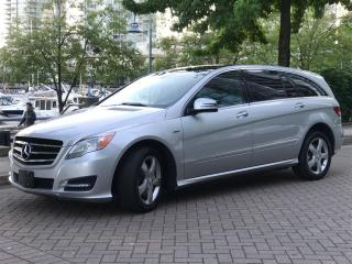 Used 2011 Mercedes-Benz R-Class DIESEL, PASS,DVD,NAVIGATION,BACK UP CAMERA for sale in Vancouver, BC
